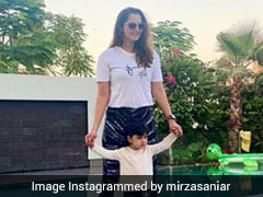 "Sania Mirza's ""Twinning"" Photo With Her ""Little Star"" Son Izhaan Is Cuteness Overload. See Pic"