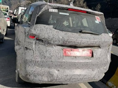 New-Generation Mahindra XUV500 Spotted Testing Again
