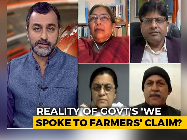 """Video : """"No Record Of Government Talks With Farmers"""": NDTV Exclusive"""