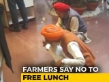 "Video : ""We Brought Our Own Food"": Farmers Refuse Lunch At Meet With Government"