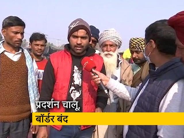 Videos : सिंघु बॉर्डर पर डटे हुए हैं किसान, सरकार से बातचीत का इंतजार