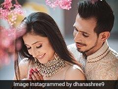 क्रिकेटर युजवेंद्र चहल और धनाश्री की इंगेजमेंट डे की Photos हुईं Viral, यूं खूबसूरत अंदाज में नजर आया कपल