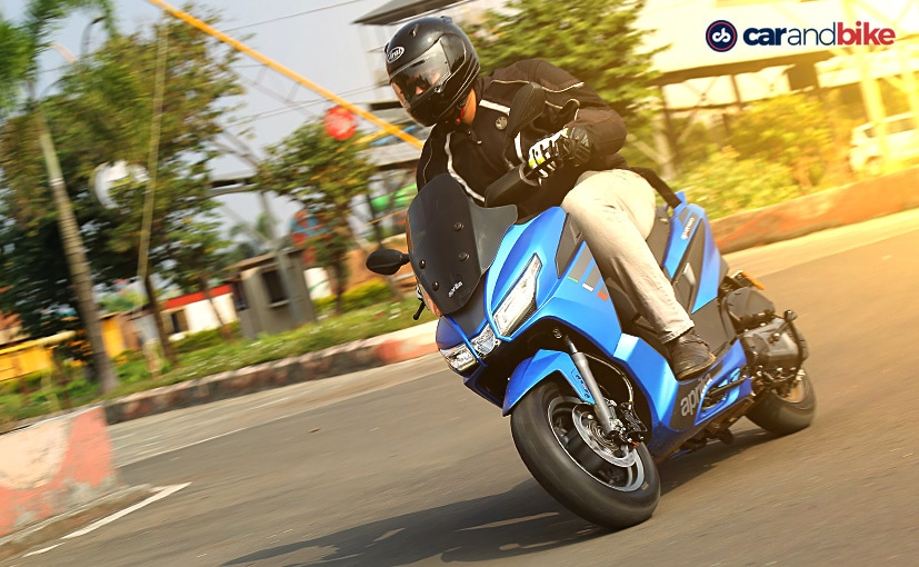 The Aprilia SXR 160 is the newest maxi-scooter to go on sale and does not have a direct rival