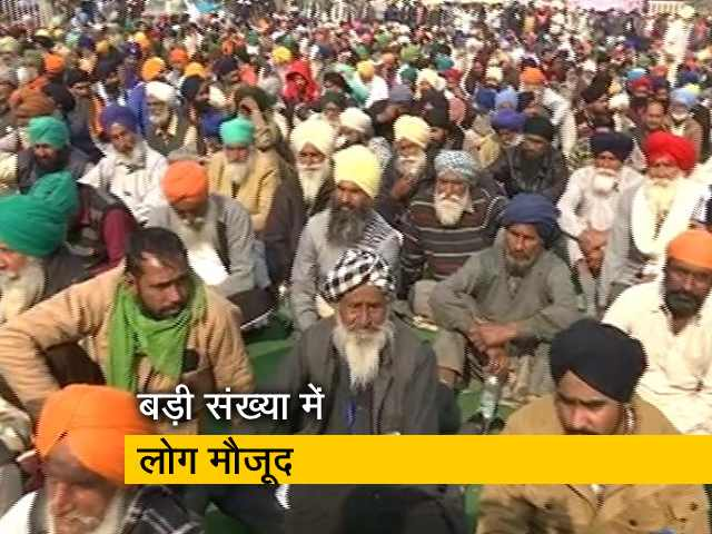 Videos : सुबह 11 बजे शुरू हुई किसानों की क्रमिक भूख हड़ताल