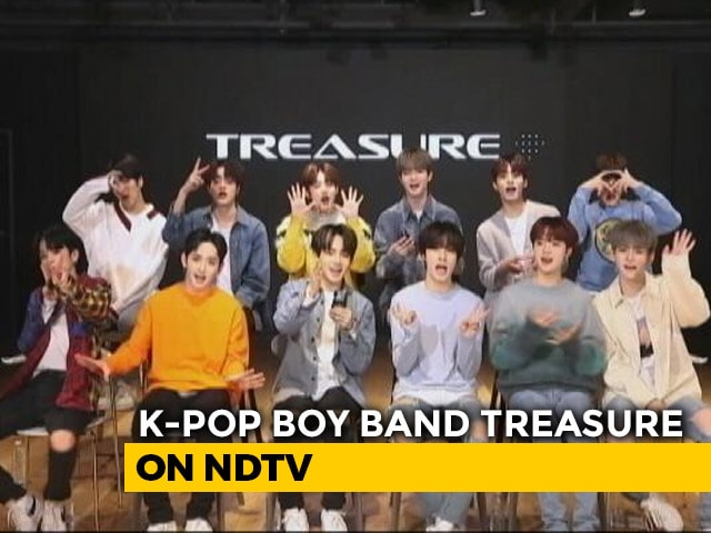 K-Pop Band TREASURE Interview On Music And More