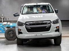 2020 इसुज़ु डी-मैक्स को यूरो NCAP में सुरक्षा के लिए मिली पांच सितारा रेटिंग