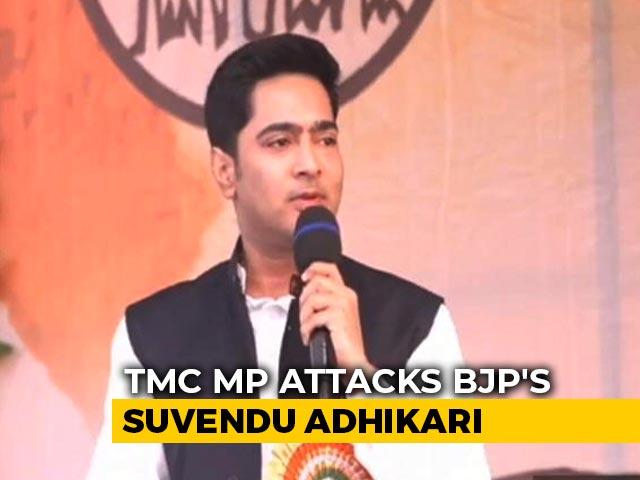 "Video : Attacked As ""Tolabaj"", Mamata Banerjee's Nephew Flips Slur Back At Defector"