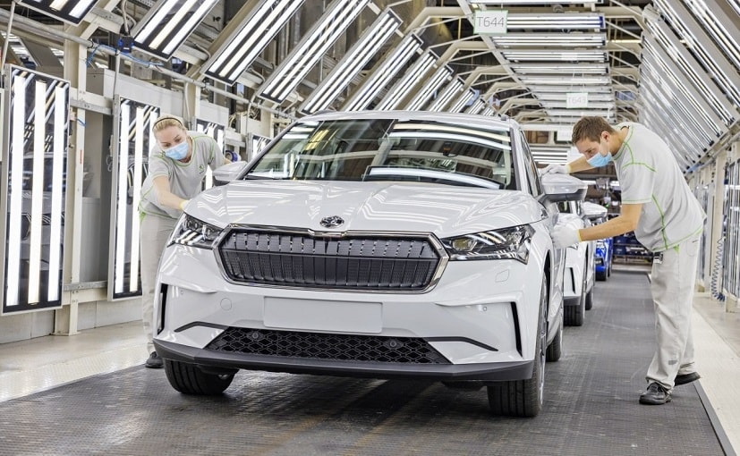 The 2021 Skoda Enyaq iV electric SUV will be offered in multiple configurations of power and range.
