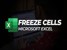 How to Freeze Rows and Columns in Microsoft Excel and Google Sheets