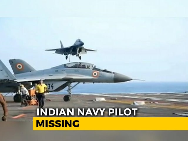 Video : 1 Week On, No Signal From SOS Unit Of Navy Pilot Who Ejected: Sources
