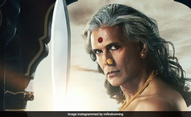 In Striking First Look, Milind Soman Represents The 'Third Gender In The World Of Paurashpur'