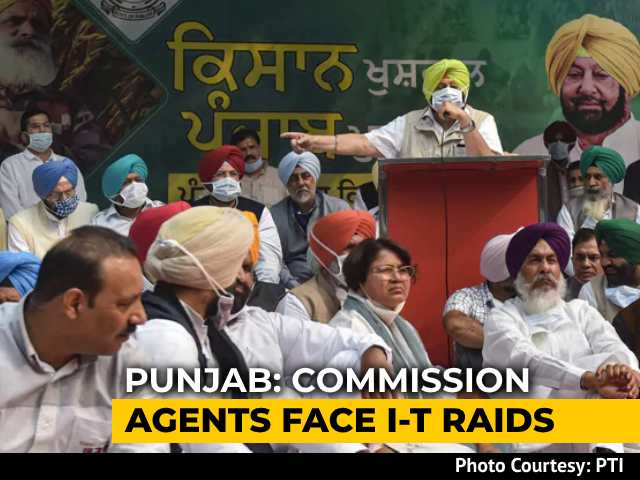 Video : Tax Raids On Punjab Farm Agents Targets Farmers' Protest: Amarinder Singh