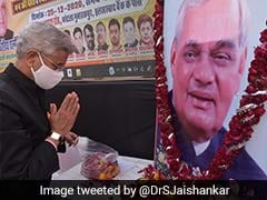 Atal Bihari Vajpayee's Vision Led To Expansion Of India's External Ties: S Jaishankar