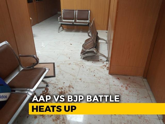 Video : BJP Vandalised Office, Warned Us Over Farmer Protest: AAP's Raghav Chadha