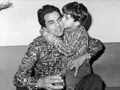"""Love You, Papa"": Bobby And Esha Deol's Adorable Birthday Wishes For Dharmendra"