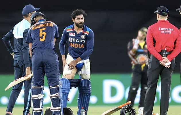 1st T20I: Chahal Replaces Jadeja As Concussion Substitute