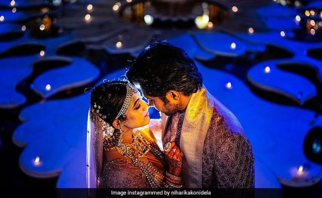 New Pics Of Niharika Konidela And Chaitanya JV From Their Fairytale Wedding