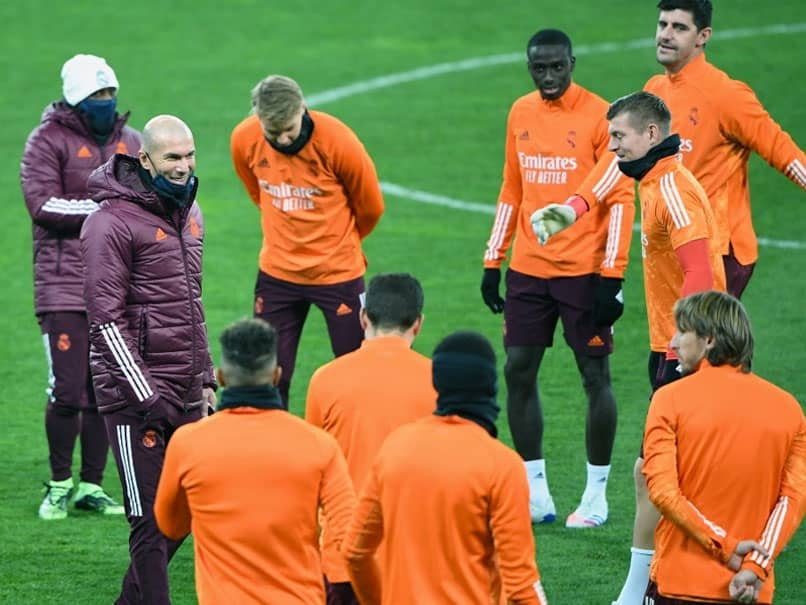 Under-Fire Zinedine Zidane Asks Real Madrid Players To Stand Up And Be Counted