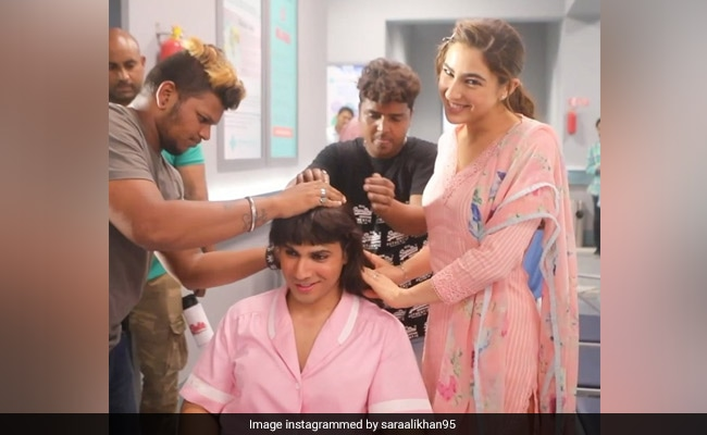 Who Is That In A Nurse's Uniform With Sara Ali Khan? No Points For Guessing