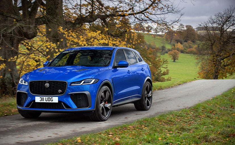 The 2021 Jaguar F-Pace SVR has been significantly upgraded in terms of performance and features.