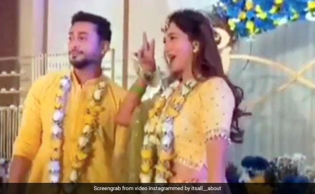 Gauahar And Zaid Danced Their Hearts Out At Pre-Wedding Bash