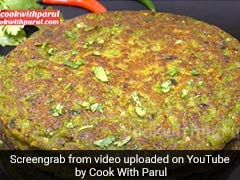 Watch: This Unique Matar Pancake Recipe Spells Winter Indulgence (Recipe Video)
