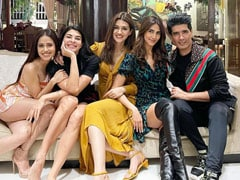 Jacqueline Fernandez, Vaani Kapoor And Others Attend Manish Malhotra's House Party