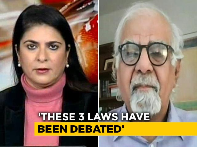 Video : Farm Laws As Important As 1991 Reforms: Dr Surjit Bhalla