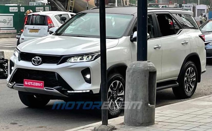 The Toyota Fortuner Legender is a sportier more stylish version of the regular facelifted SUV