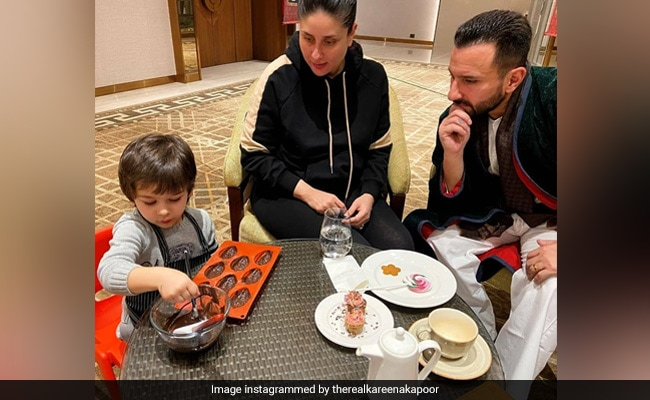 Inside Kareena Kapoor, Saif Ali Khan And Taimur's 'Exclusive Culinary Session'