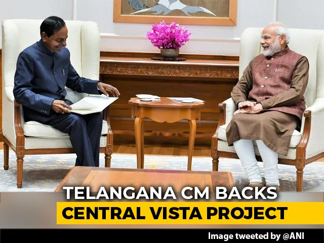 "Video : Central Vista Project ""Symbol Of National Pride"": KCR Writes To PM Modi"