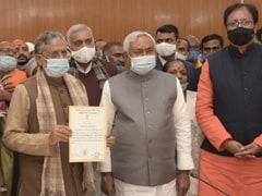 BJP के वरिष्ठ नेता सुशील मोदी राज्य सभा के लिए निर्विरोध चुने गए
