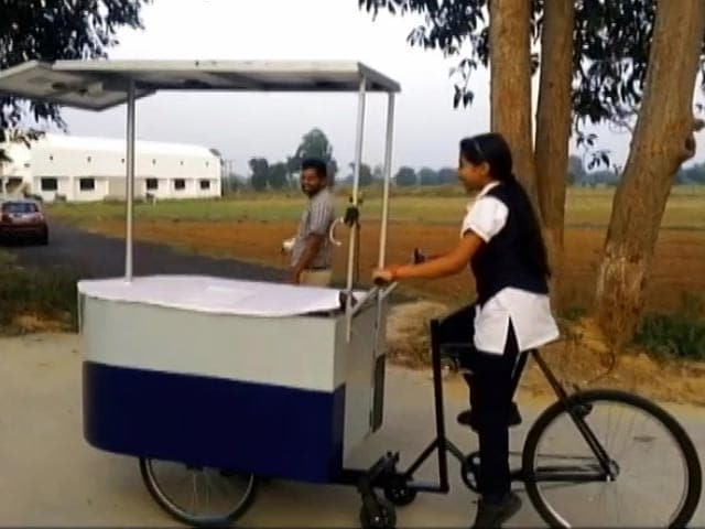 Video : Solar Ironing Cart By 14-year-old Girl Promises Massive Improvement In Air Quality