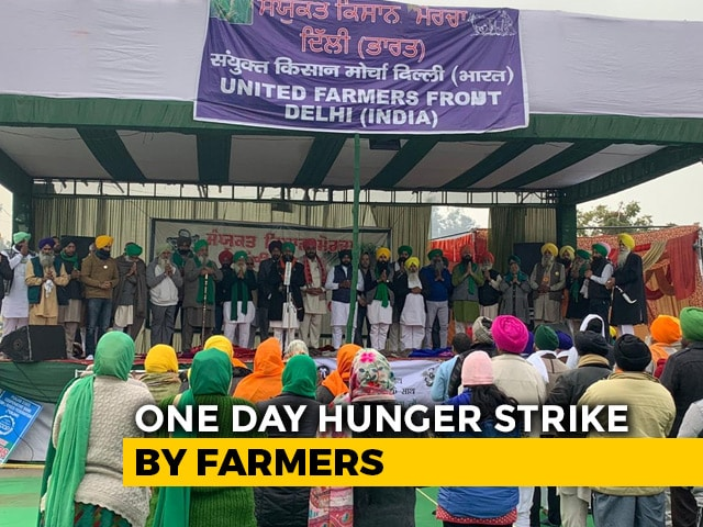 Video : Farmers' Nationwide Hunger Strike Today As Protests Escalate