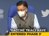 Video : Centre Rejects Volunteer's Claim, Clears Oxford Vaccine Trials In India
