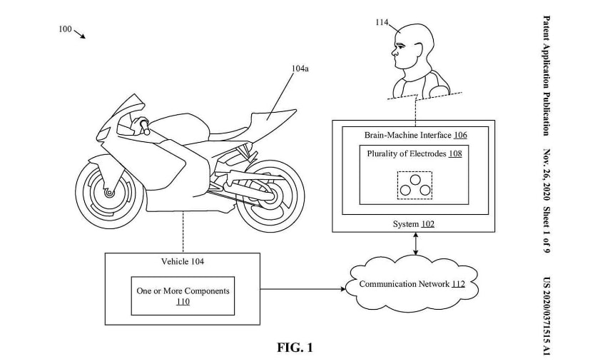 Honda is working on the next-generation electronic rider aids as revealed in latest patent filings