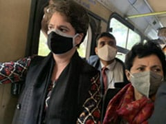 Congress March To President Stopped, Priyanka Gandhi Briefly Detained