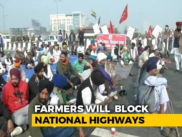 """Video : """"Peaceful"""" Bharat Bandh From 11 AM-3 PM Tomorrow, Say Farmers"""