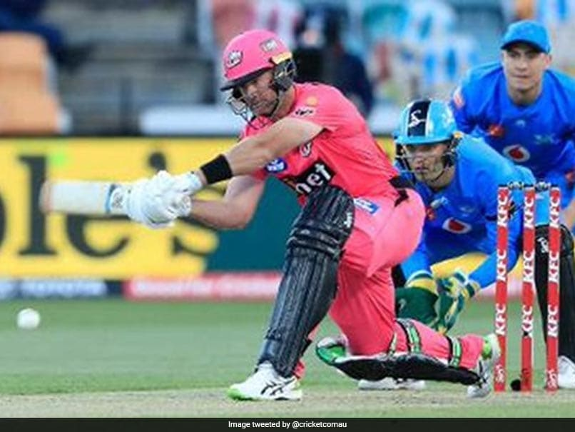 Watch: Dan Christian Smashes 2nd Fastest Fifty In BBL History During Sydney Sixers vs Adelaide Strikers Match