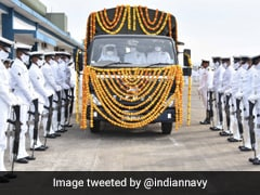 Indian Navy Pays Last Respects To MiG-29K Pilot Commander Nishant Singh Who Died In Crash