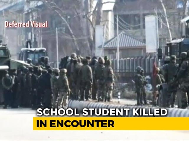 """Video : 3 """"Terrorists"""" Shot Dead, Say J&K Cops, Families Claim They Were Innocent"""