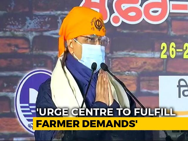 """Video : """"I Appeal With Folded Hands..."""": Arvind Kejriwal To Centre On Farm Laws"""