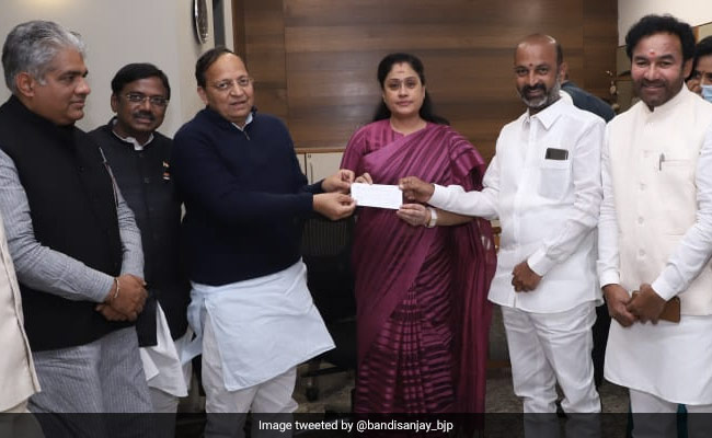 Actor-Politician Vijayashanti Returns To BJP In Latest Big Congress Exit