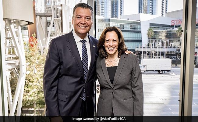 California Secretary Of State Alex Padilla To Replace Kamala Harris In US Senate