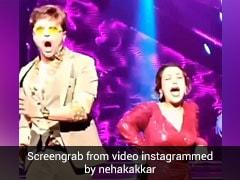 नेहा कक्कड़ को गलती से सेट पर चोटिल कर बैठे हिमेश रेशमिया, वायरल हुआ Video