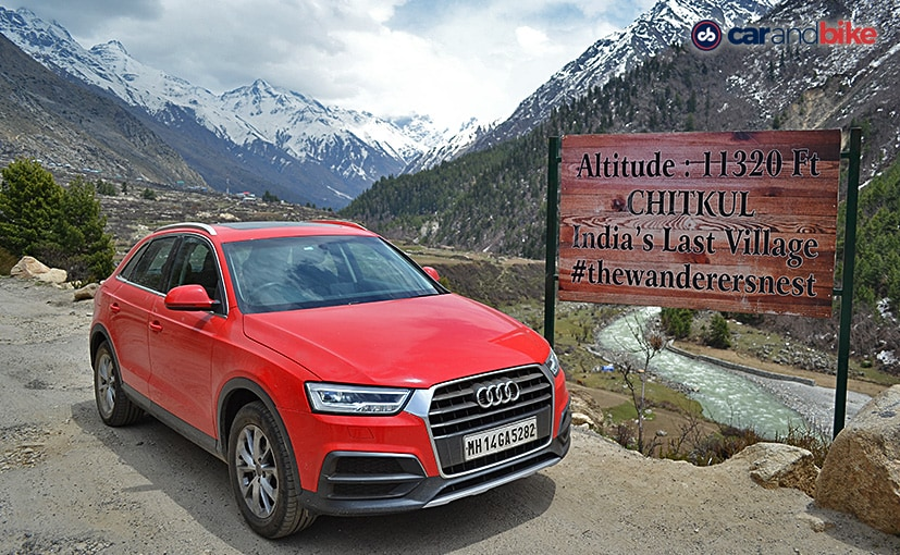 The Audi Q3 performed admirably on our road trip to Chhitkul in Himachal Pradesh