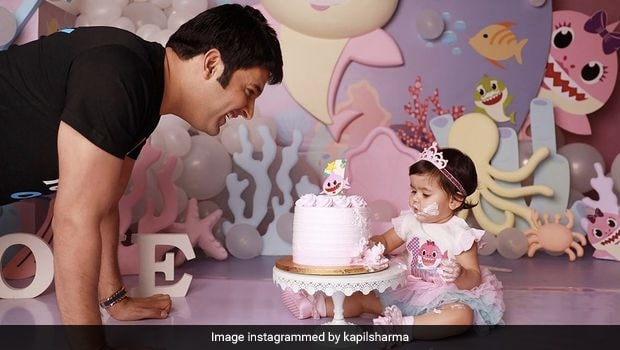 Kapil Sharma's Daughter Turns One, Family Celebrates With Cutest Cake Possible!