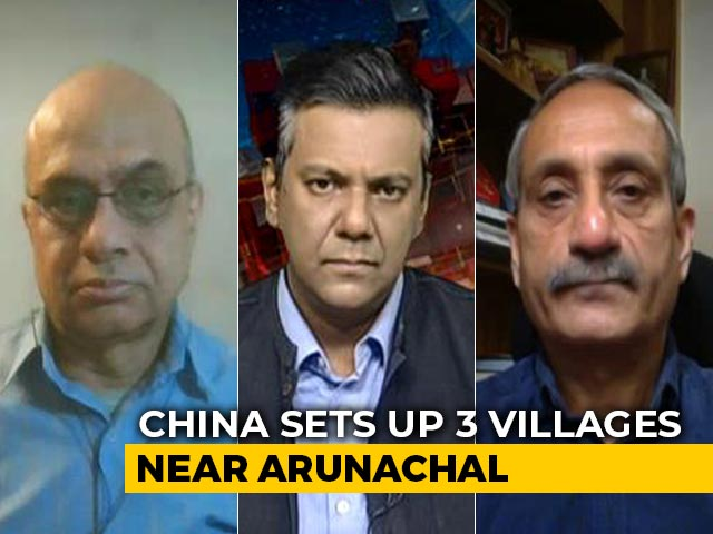 Video : China Builds Villages Near Key Pass In Arunachal