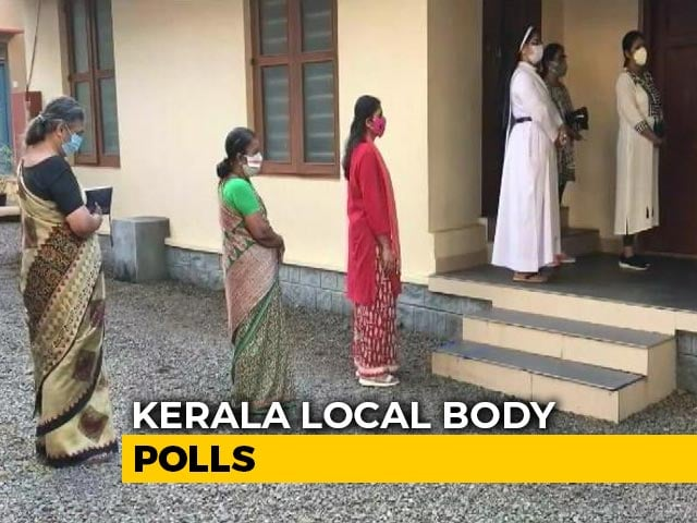 Video : Phase 2 Voting In Kerala Local Body Polls Today