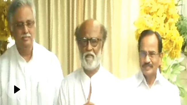 Video | Top News Of The Day: Promise, Spiritual Politics – Rajinikanth